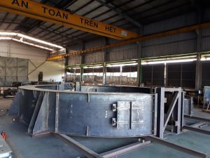 ROTOR HOUSING FOR MENTO JS COMPANY (PROJECT: CHINA STEEL GGH UNIT # 1)