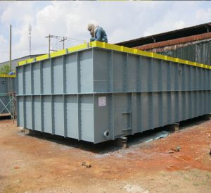 Coolant Steel Tanks for JP Steel Plantech (SPCO) for CSVC Project