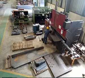 Manufacturing Platforms for Wind Tower  for O-SUNG VINA Wind Tower