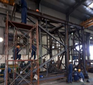 Manufacturing Steel Structure for SOLTEC Vietnam Company ( Exported to Japan ) 1