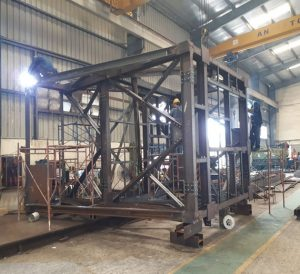Manufacturing Steel Structure for SOLTEC Vietnam Company ( Exported to Japan )