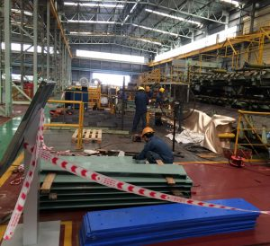 Manufacturing and Assembling The Leader Table Roll  for POSCO VST  Company  ( Mar 2018)