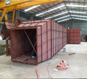 Steel Fume  Ducts for JP Steel Plantech (SPCO) for CSVC Project