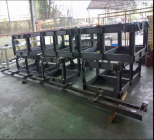 Steel Structure for Steel Plants ( DANIELI Company in Thailand )