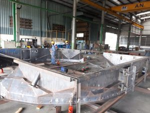 Gas Ducts for Mento JS Company ( Project : China Steel GGH Unit #1)